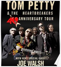 Tom Petty with Special Guest 40th Anniversary Tour 2017 ADR04 Poster