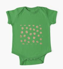 Rose gold dots One Piece - Short Sleeve