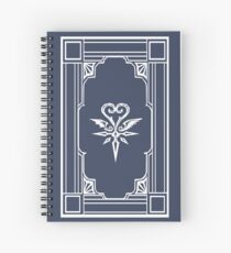 Book of Prophecies KHuX Spiral Notebook