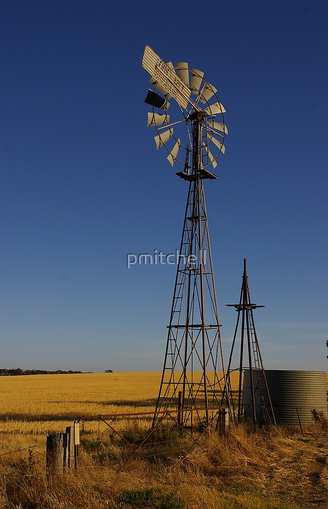 idle windmill by pmitchell