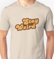 Stay Weird Slim Fit T-Shirt