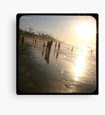 Beach Fun 1 Canvas Print