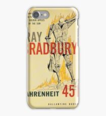 Fahrenheit 451 by Ray Bradbury iPhone Case/Skin