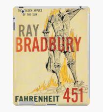 Fahrenheit 451 by Ray Bradbury iPad Case/Skin