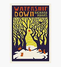 Watership Down by Richard Adams Photographic Print