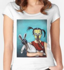 Playtime 2050 Women's Fitted Scoop T-Shirt