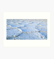 Death Valley Salt Flats - Original Image for Contact Reaction Art Print