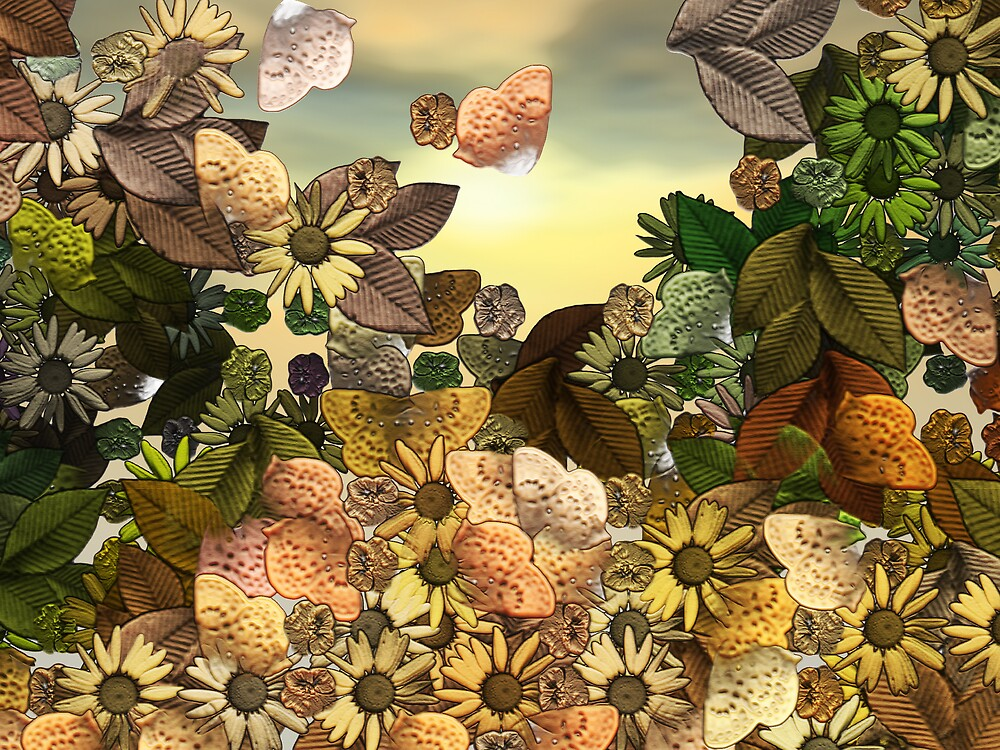Sunday Garden by Wendy J. St. Christopher