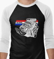 426 V8 Blown Engine Men's Baseball ¾ T-Shirt