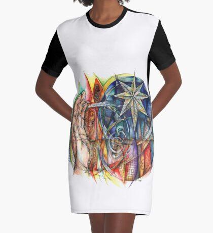 Caim Graphic T-Shirt Dress