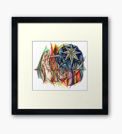 Caim Framed Print
