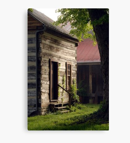 Cozy Cabin Canvas Print