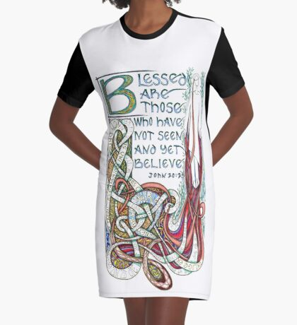 Blessed Are Graphic T-Shirt Dress