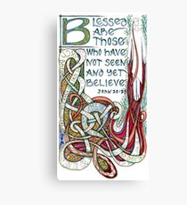 Blessed Are Canvas Print
