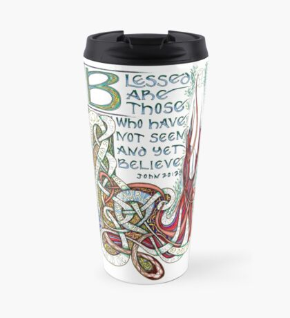 Blessed Are Travel Mug