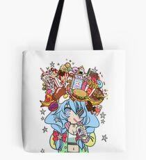 Foodporn Princess Tote Bag