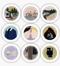 PHILKAS: A MINIMALIST LOVE STORY Sticker