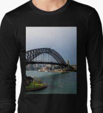 Die Harbour Bridge Langarmshirt