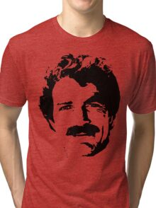 The Man With The Stache Tri-blend T-Shirt