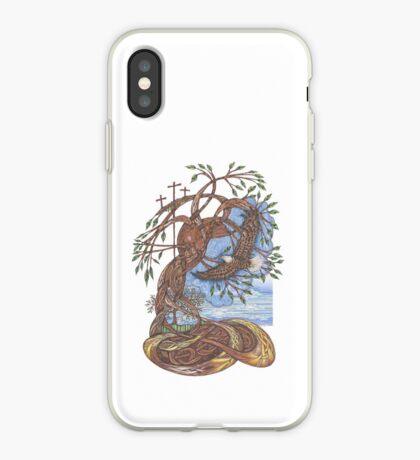 Faith, Hope and Eternal Love iPhone Case