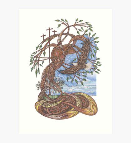 Faith, Hope and Eternal Love Art Print