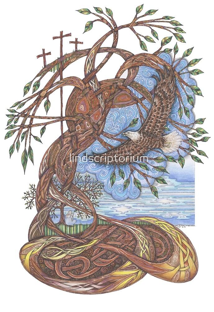 Faith, Hope and Eternal Love by lindscriptorium