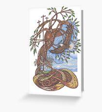 Faith, Hope and Eternal Love Greeting Card
