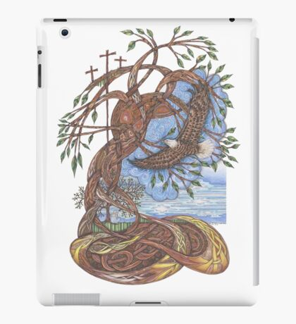 Faith, Hope and Eternal Love iPad Case/Skin
