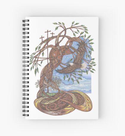 Faith, Hope and Eternal Love Spiral Notebook