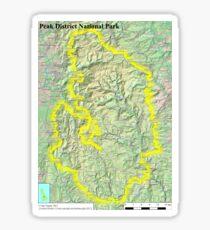 Peak District National Park Sticker