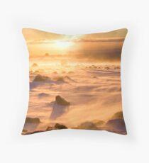 Ruapehu Mt. Throw Pillow