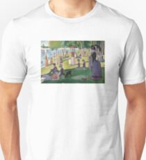 a sunday afternoon on the island of la grande jatte Unisex T-Shirt