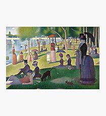 a sunday afternoon on the island of la grande jatte Photographic Print