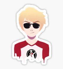 Dave Strider Bust Sticker