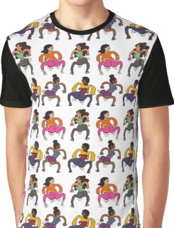 Booty Butt Cheeks Graphic T-Shirt