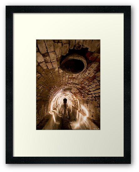 Underground Tunnel by Alex Wise