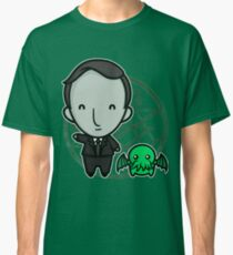 HP Lovecraft and Friend Classic T-Shirt