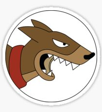 Release the Hounds Roundel Sticker