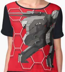 Metal Gear? Women's Chiffon Top