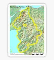 Snowdonia National Park Sticker