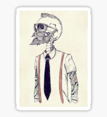 The Gentleman becomes a Hipster Sticker