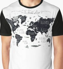 The World Map Graphic T-Shirt