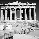 Siesta at the Parthenon by Sandro Rossi