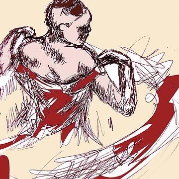 Dancer Print by tashaallen