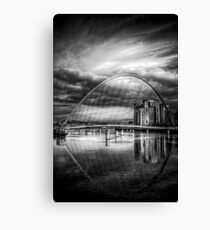 Millenium Bridge Canvas Print