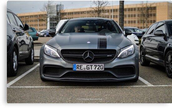 Mercedes Benz C63 S AMG Coupé C205 Edition 1 By DutchStylez