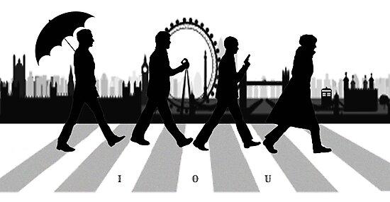 221B Abbey Road (Version Two) by Ambear92
