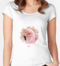 Flamingo T-shirt échancré