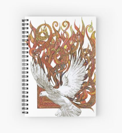 Spirit of God Spiral Notebook