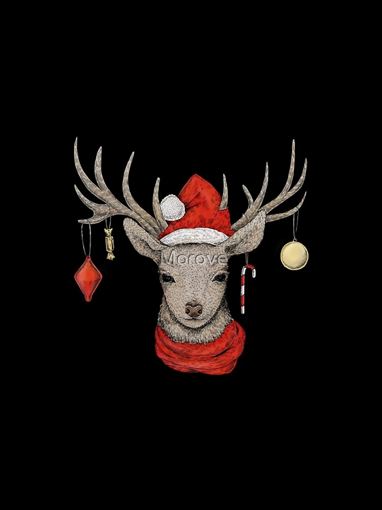 Christmas Deer by Morove